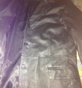 Новый плащ-пиджак из Нат.кожи