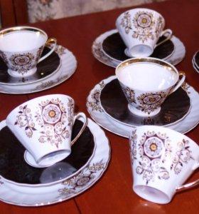 Кофейные пары с блюдцем для пирожка. СССР
