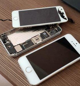 Продам 2 iPhone 5s на запчасти
