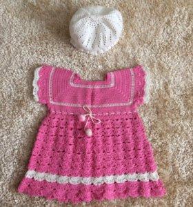 Новое платье и панамка