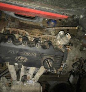 Двигатель хендай гетц