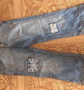 Бриджи джинсовые! Новые!