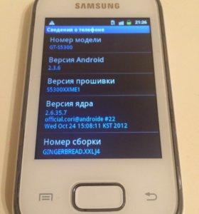 Телефон Samsung Galaxy Pocket GT- S5300