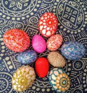 Яйца ручной работы