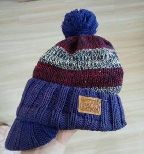 Детская шапка на весну