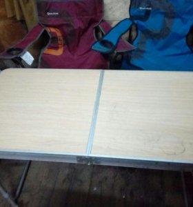 Стулья и стол для кэмпинга