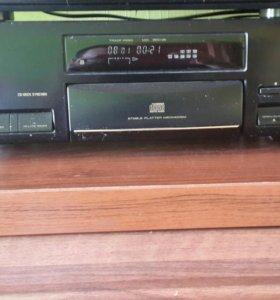 Аудио система пионер кассетник и CD рессиверы