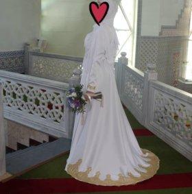 Шикарное платье для никаха