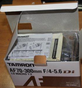 объектив tamron af 70-300 mm f/4-5.6