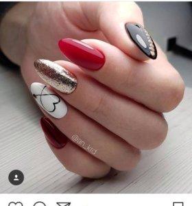 Наращивание ногтей,