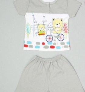 Детский комплект. Футболка +шорты