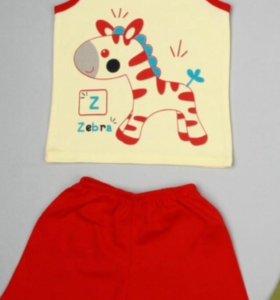 Комплект майка +шорты
