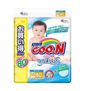 Goon Подгузники 6-11 кг (размер M) 80 шт