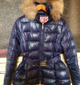 Курточка с натуральным мехом