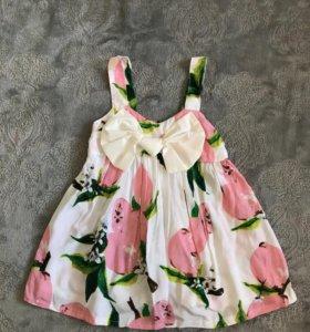 Платье детское (новое)