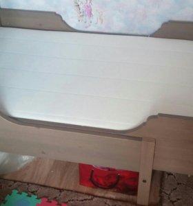 Раздвижная кровать икея.