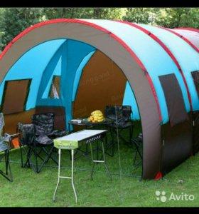 Палатка кемпинговая новая + Подарки.