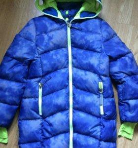 Пальто-пуховик Orby зима для девочки 11-12 лет