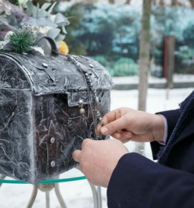 Сундук для даров и декора (прокат)