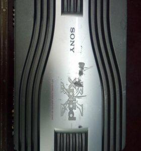 Усилтель 4 канальный sony xplod xm-sd46x