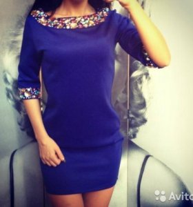 Новое платье в стразах