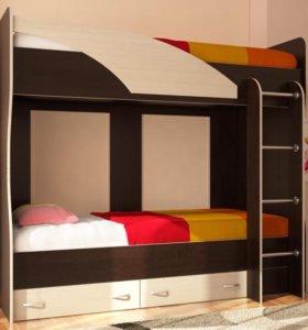 """Двухъярусная кровать """"Мила"""""""