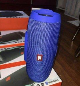 Колонка JBL charge+ 3 синяя