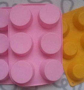 Силиконовые формы для выпечки или мыла