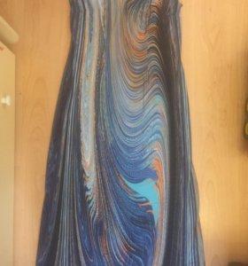 Платье в пол 48-50 р