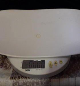 Весы детские электронные