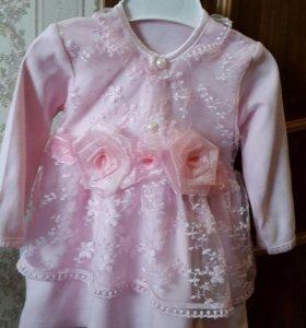 Платье до 9 месяцев