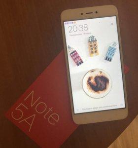 Xaiomi Redme Note 5A 16гб