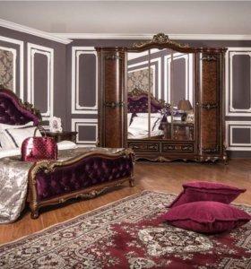 Джоконда – спальня в стиле «барокко»