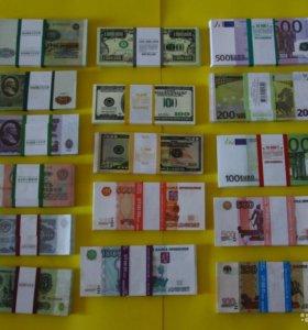 Деньги приколы Россия, СССР и иностранные разные.