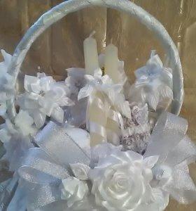 Свадебный набор (белый)