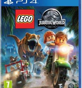 """PS4 """"Lego Мир Юрского Периода"""", новый"""