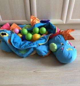 Детская игрушка, манеж, бассейн с шариками