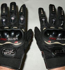 Мотоперчатки Pro-Biker новые, разные размеры