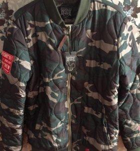Куртка-бомбер (камуфляж)