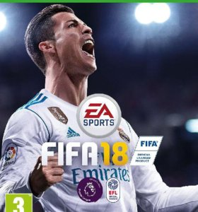 "XBOX One ""FIFA 18"", новый."