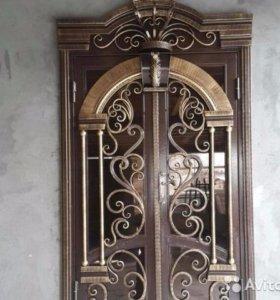Двери,Ворота,Перила,Козырьки