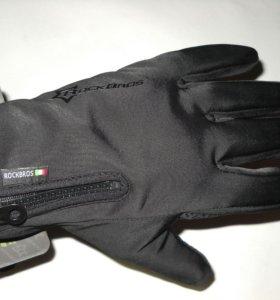 Перчатки утепленные сенсорные Rockbros, новые