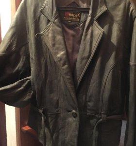 Куртка кожаная кожа-нубук р 48-50, Турция