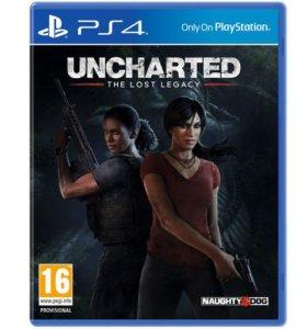 "PS4 ""Uncharted: Утраченное Наследие"", новый"