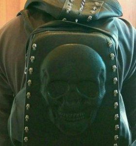 """Рюкзак с капюшоном """"Череп"""" 💀"""