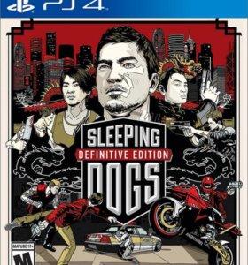 PS4 Sleeping Dogs. Definitive Edition, новый