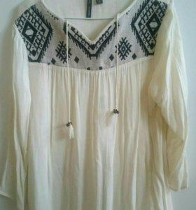 Блузка рубашка Mango