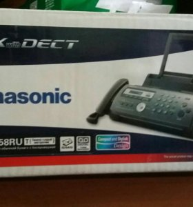 Факс-телефон Panasonic
