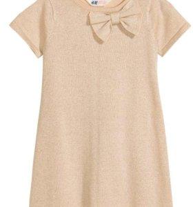 Новое платье Hm на 92 см