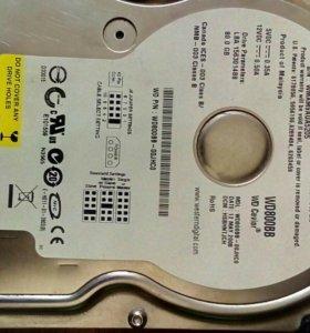 Жесткий диск 80Гб IDE